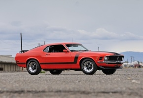 ford, mustang, boss, 302, 1970
