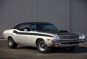 american, classic, car, dodge, challenger
