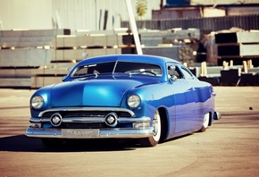 american, classic, car, custom, ford, deluxe, 1951