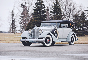 Phaeton, retro cars, 1934, cars, luxury cars, Packard