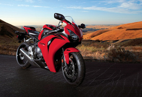 Motorcycle, road, honda, cbr, 1000