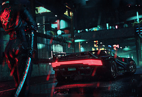Cyberpunk, 2077, Ps, Game