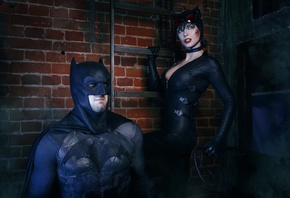 catwoman, batman, comics, cosplay