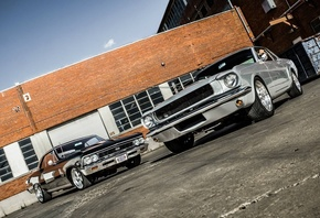 american, classic, cars, chevrolet, chevelle, ford, mustang