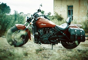 indian, scout, bike