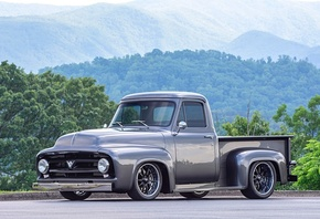 american, classic, car, custom, ford, f100