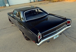 plymouth, road runner, coupe, 1969