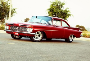 american, classic, car, chevrolet