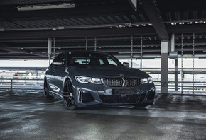 BMW, 2020, G-Power, M340i, Серый