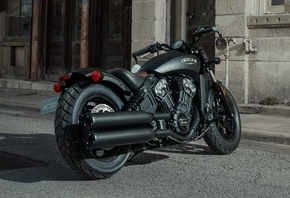indian, scout, bike, bobber