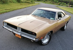 dodge, charger, rt, 1969