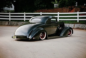 american, classic, car, packard, coupe