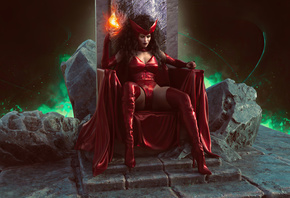 Scarlet Witch, Power, Cosplay