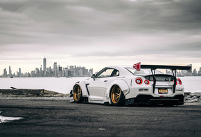 Nissan, Gtr, In, New York