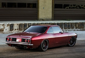 chevrolet, corvair, custom, pro touring
