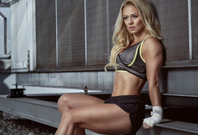 fitness, girl, blonde, shoes, Shorts, top, sport, sexy, woman, women, piercing, navel, boxing