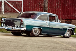 chevrolet, bel air, coupe