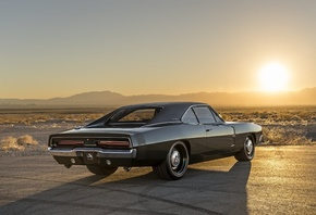 american, classic, car, dodge, charger