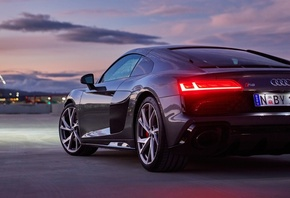 Audi, R8, V10, RWD, Coupe