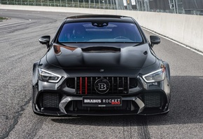 вид спереди, Brabus, Rocket, 900, One of Ten, Mercedes-AMG, GT, 63, S, 4MATIC