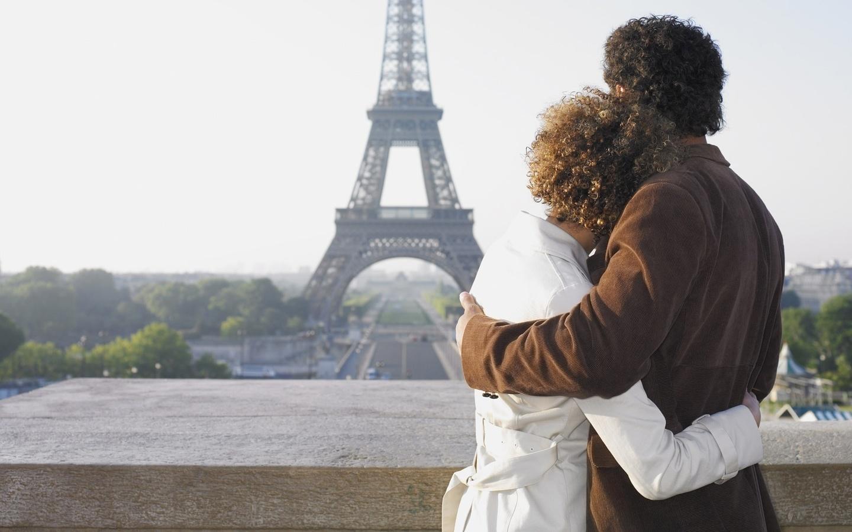 романтическое путешествие, париж, пара
