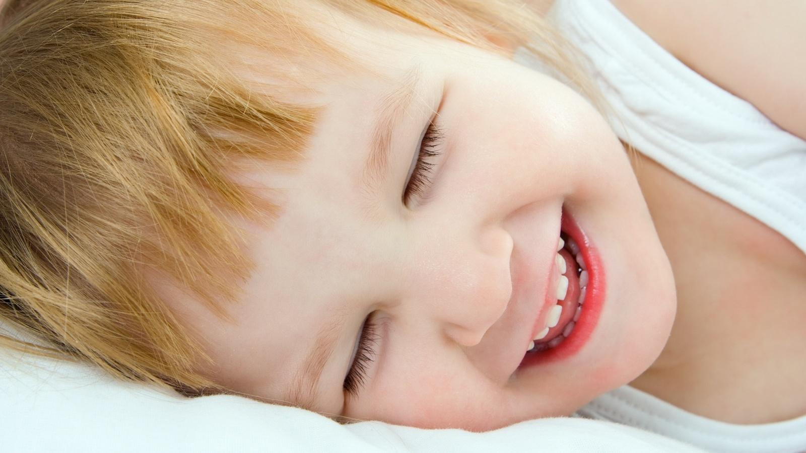 смех, детское счастье, девочка
