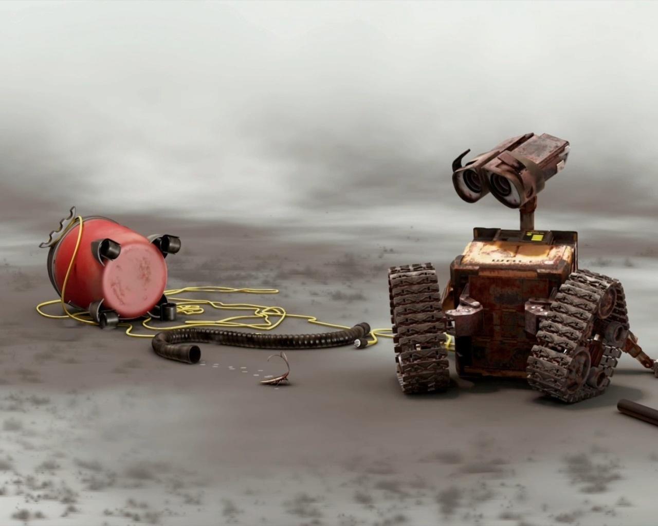 wall-e, vacuum, relax, механика