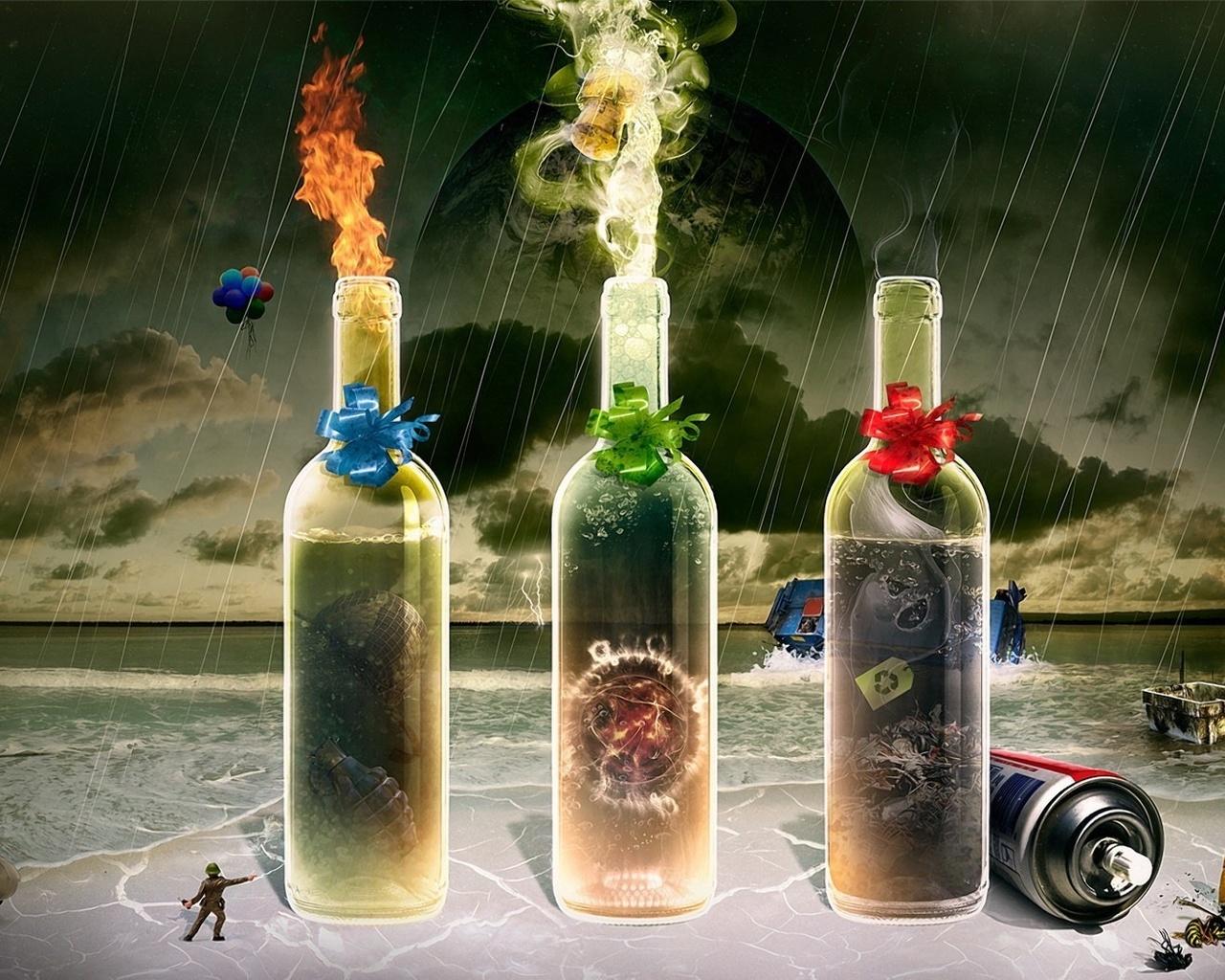 Картинка бутылки фантастика