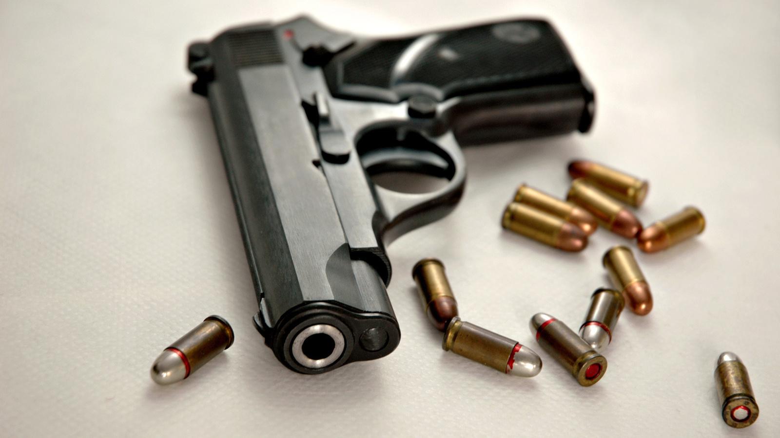 пуля, Пистолет, 9мм, патроны