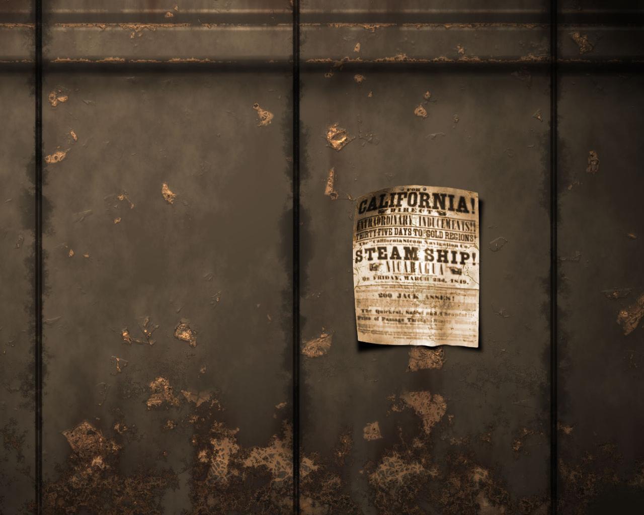 обои, объявление, 1680x1050, стена, лист, разное