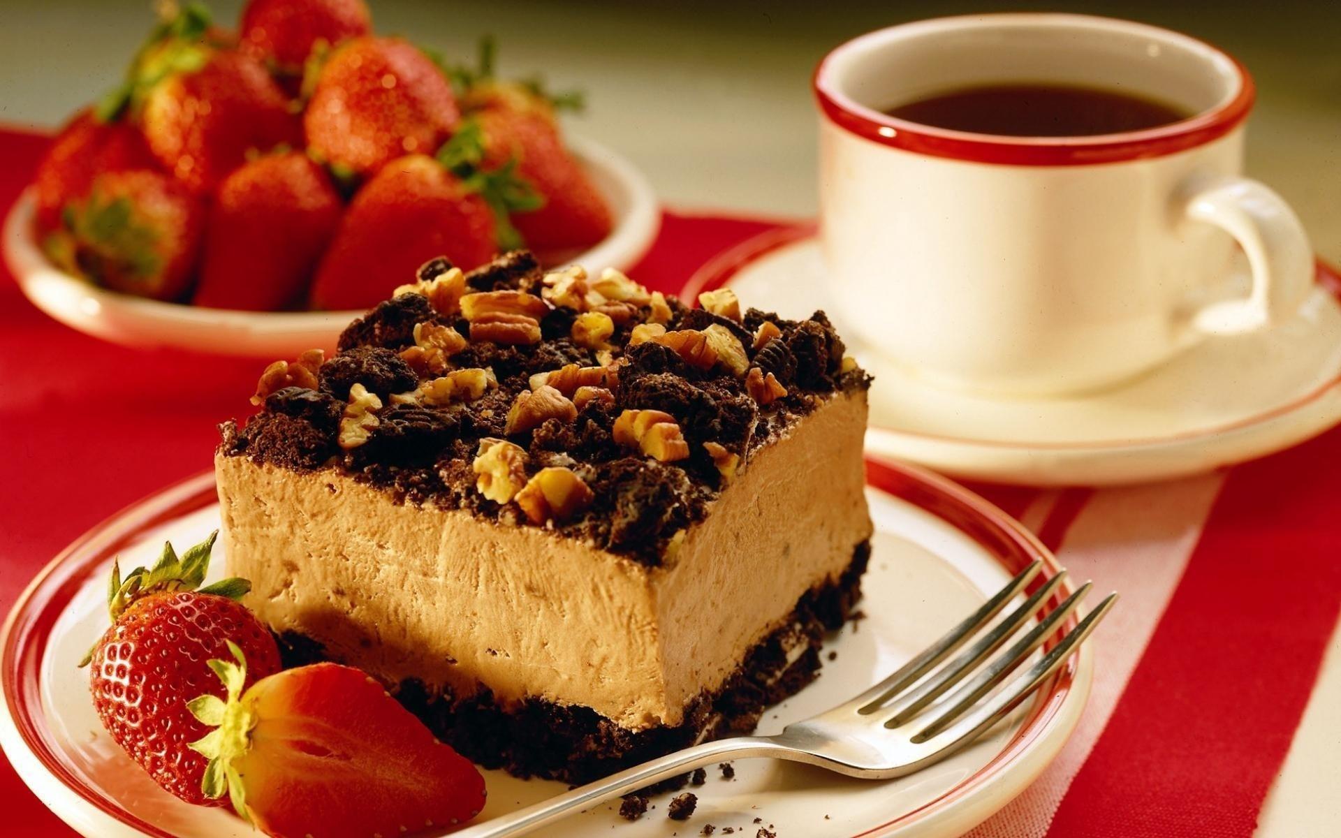 Открытку, красивые картинки кофе с тортиком