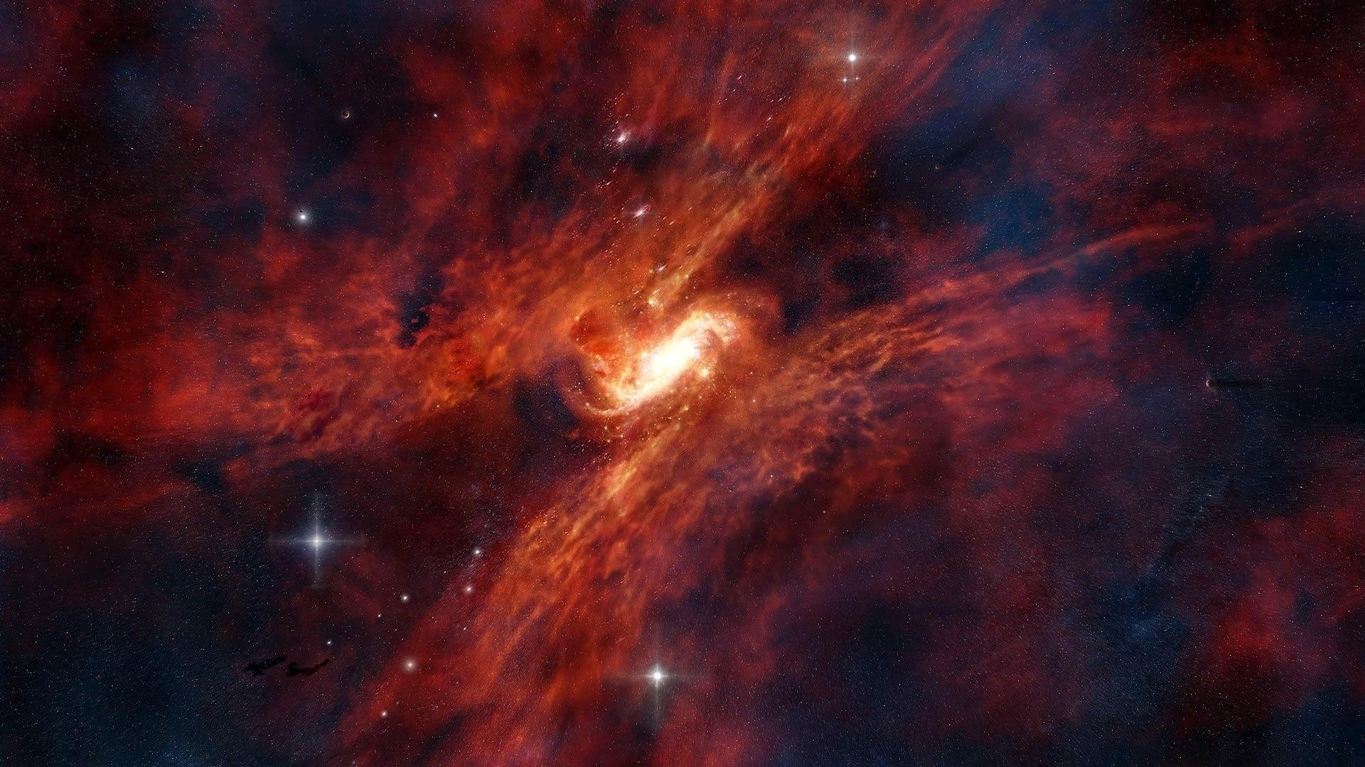 звёзды, Космос, галактика