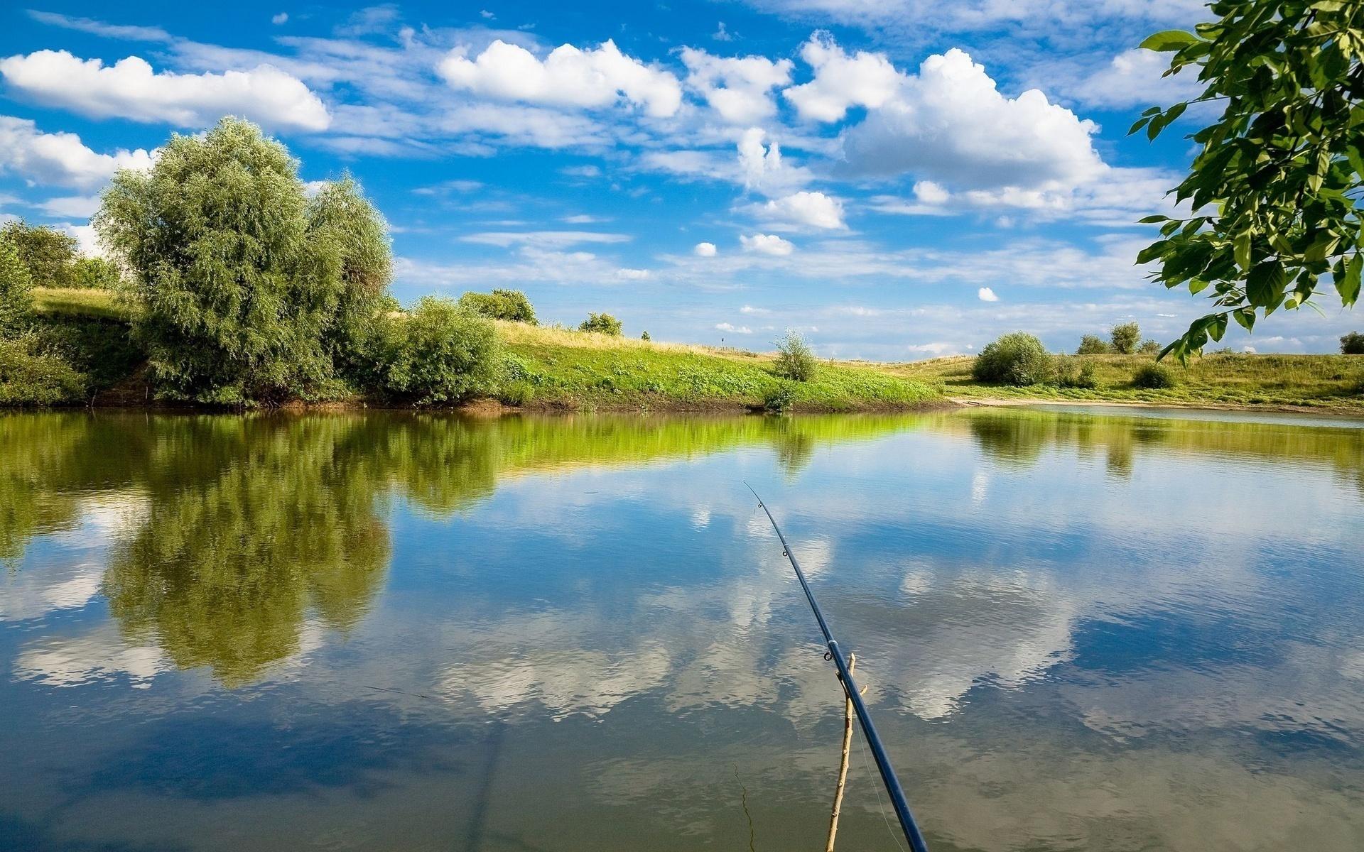 Красивые картинки рыбалки, видео
