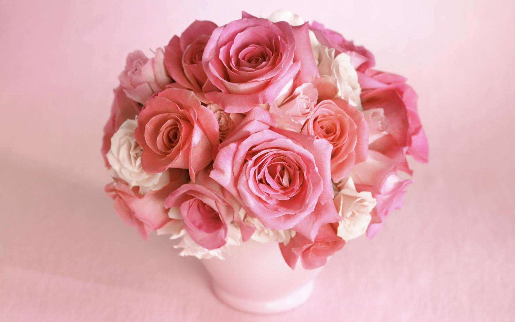 картинки букеты нежно розовые часто