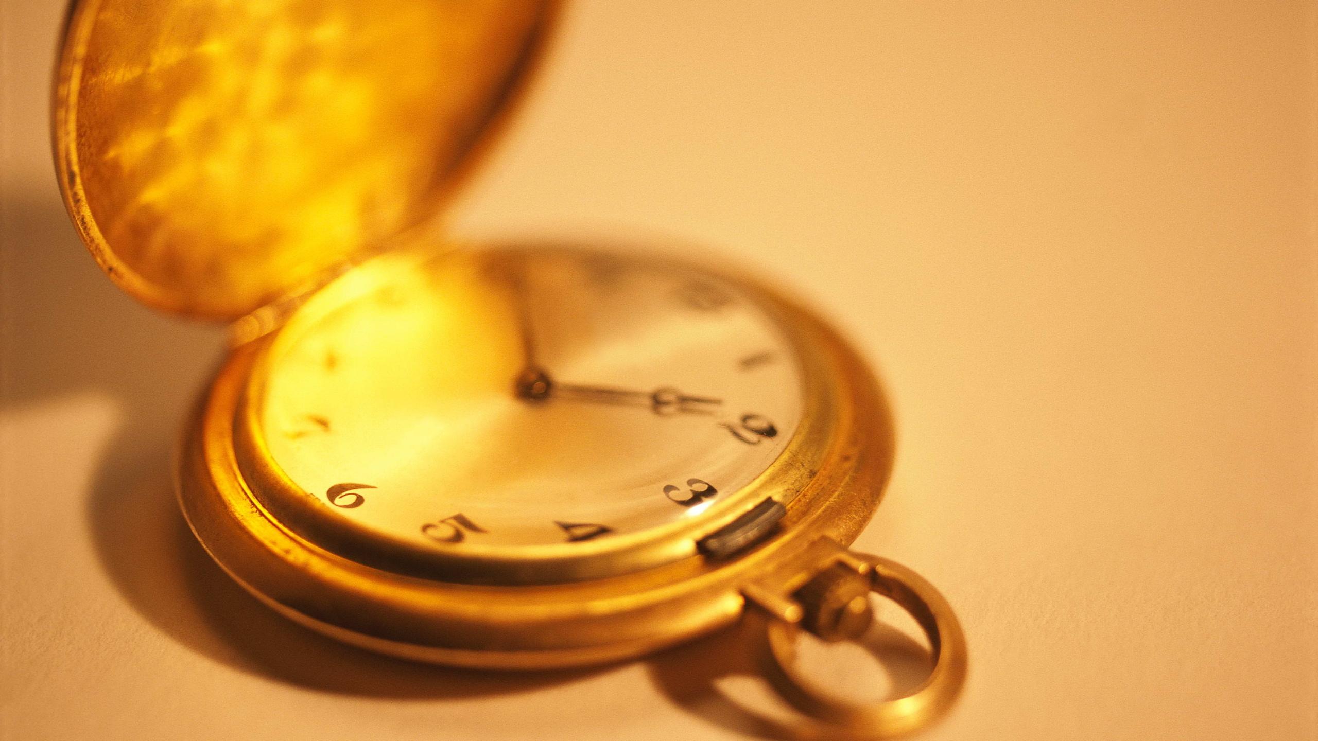 карманные, часы, время