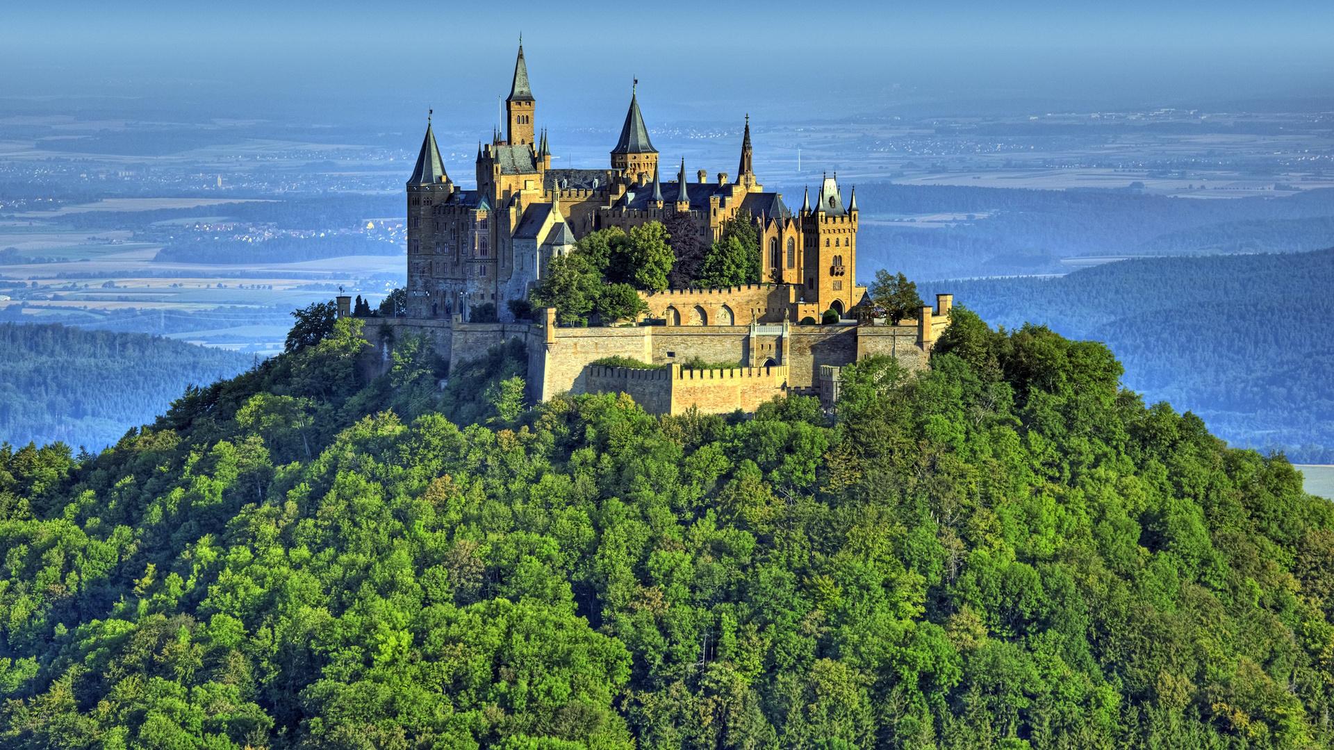 замок, гогенцоллерн, hohenzollern, castle, burg