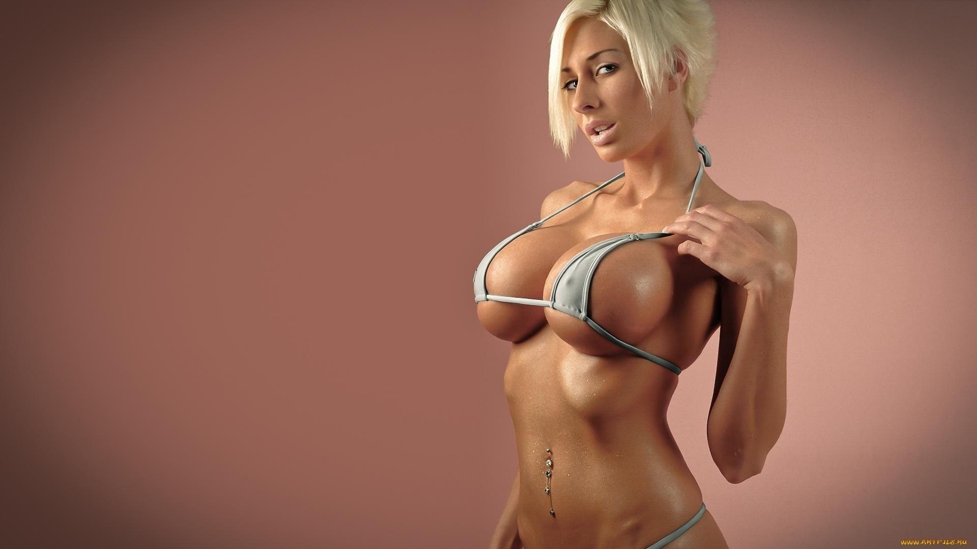 Фитнес девушки с большими сисями фото