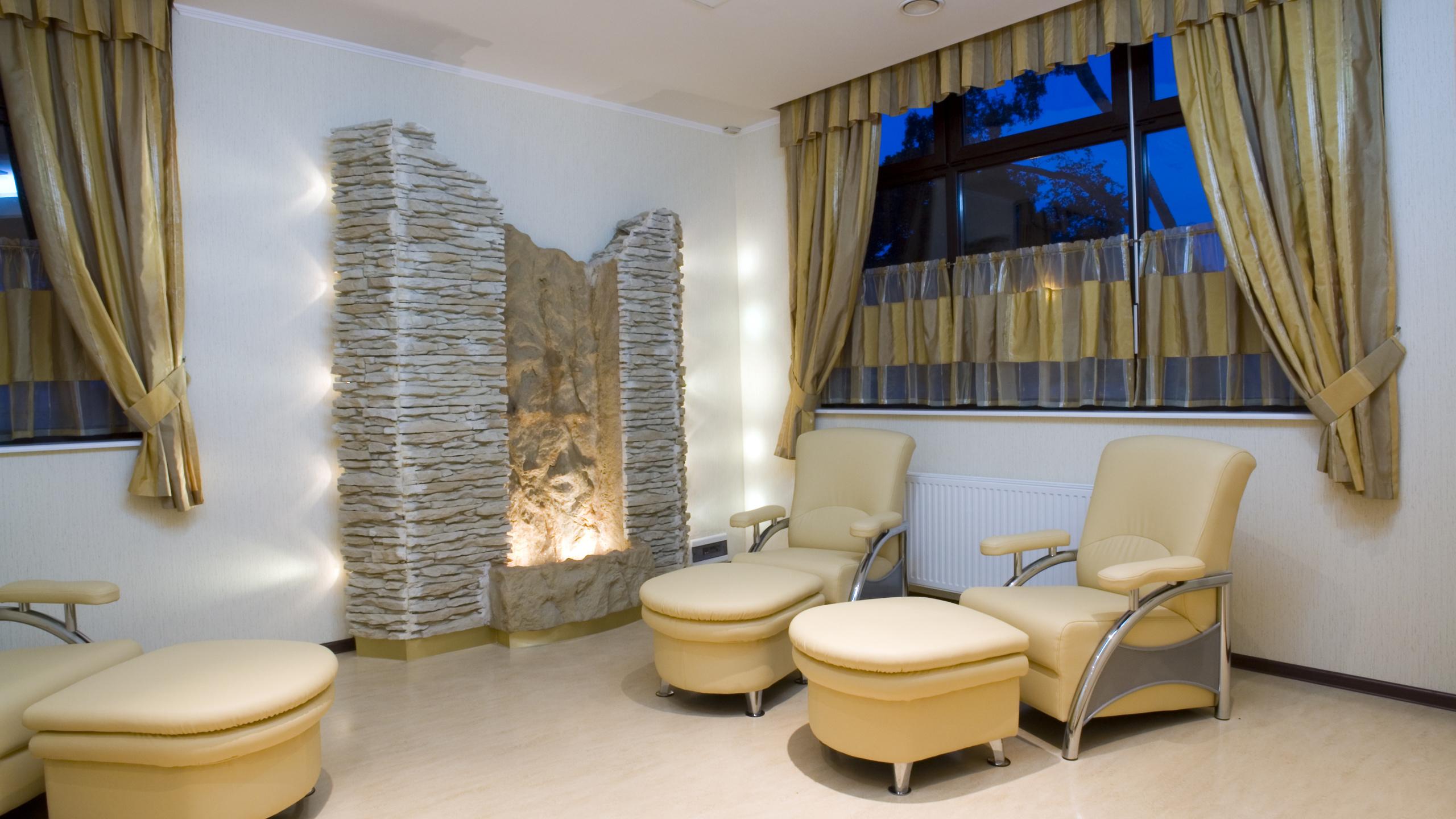 отдых, комната, окно, дом, Интерьер, обои, кресла, уют, камин,