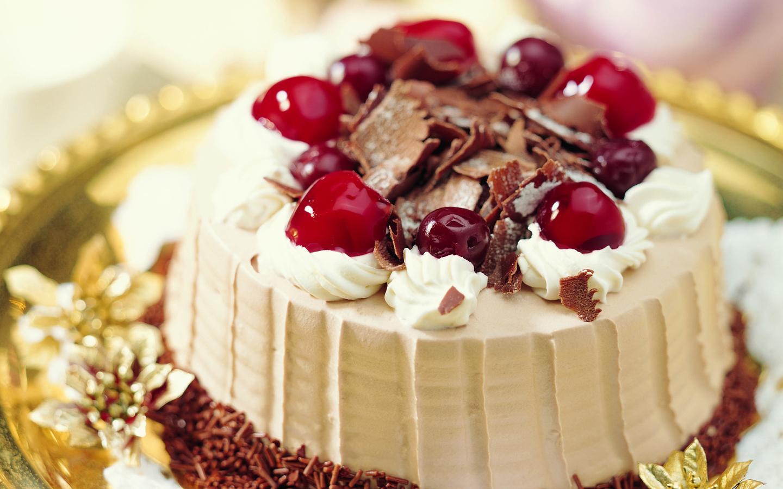 Открытка тортов