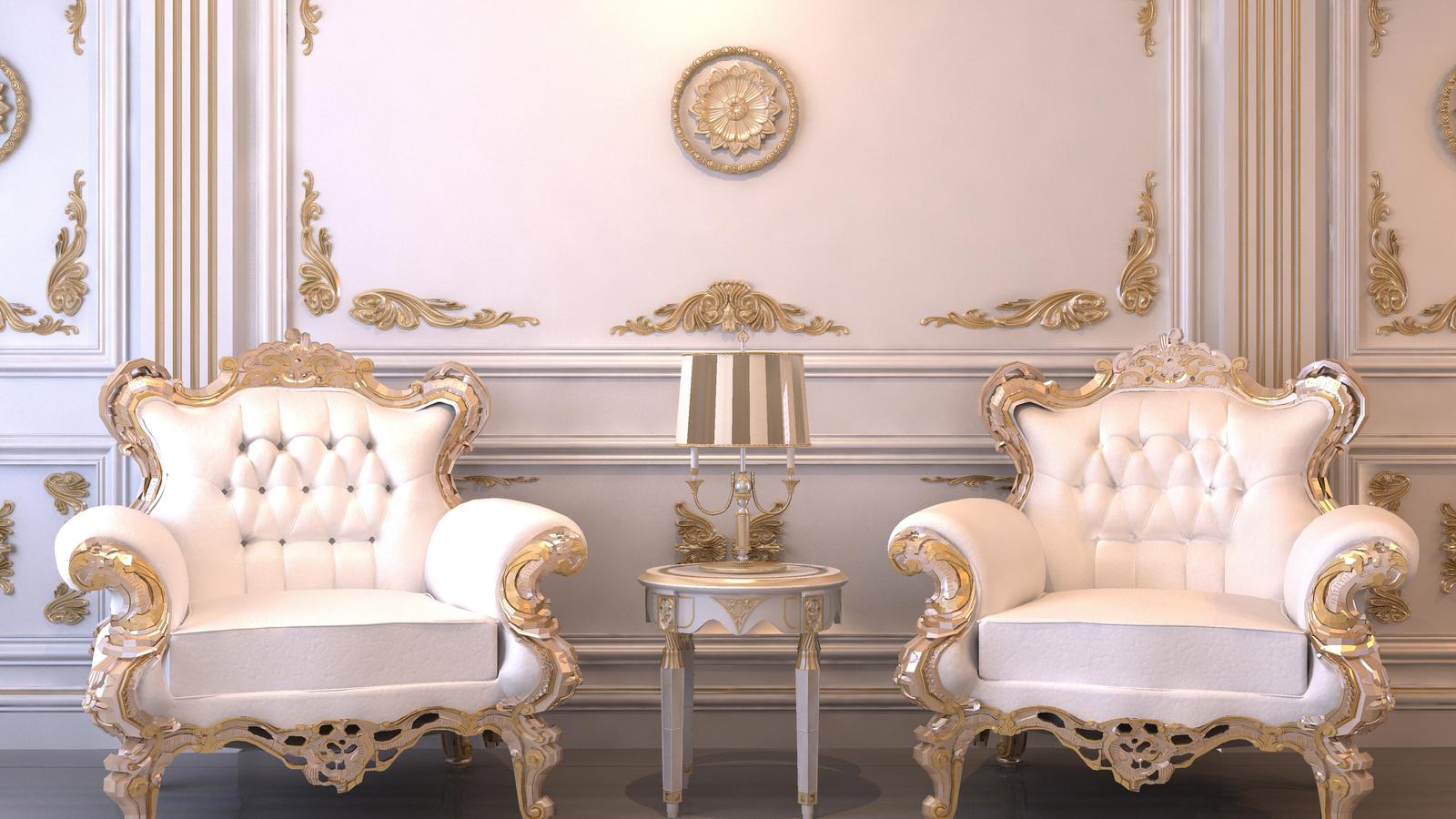 кресла, Интерьер, комната