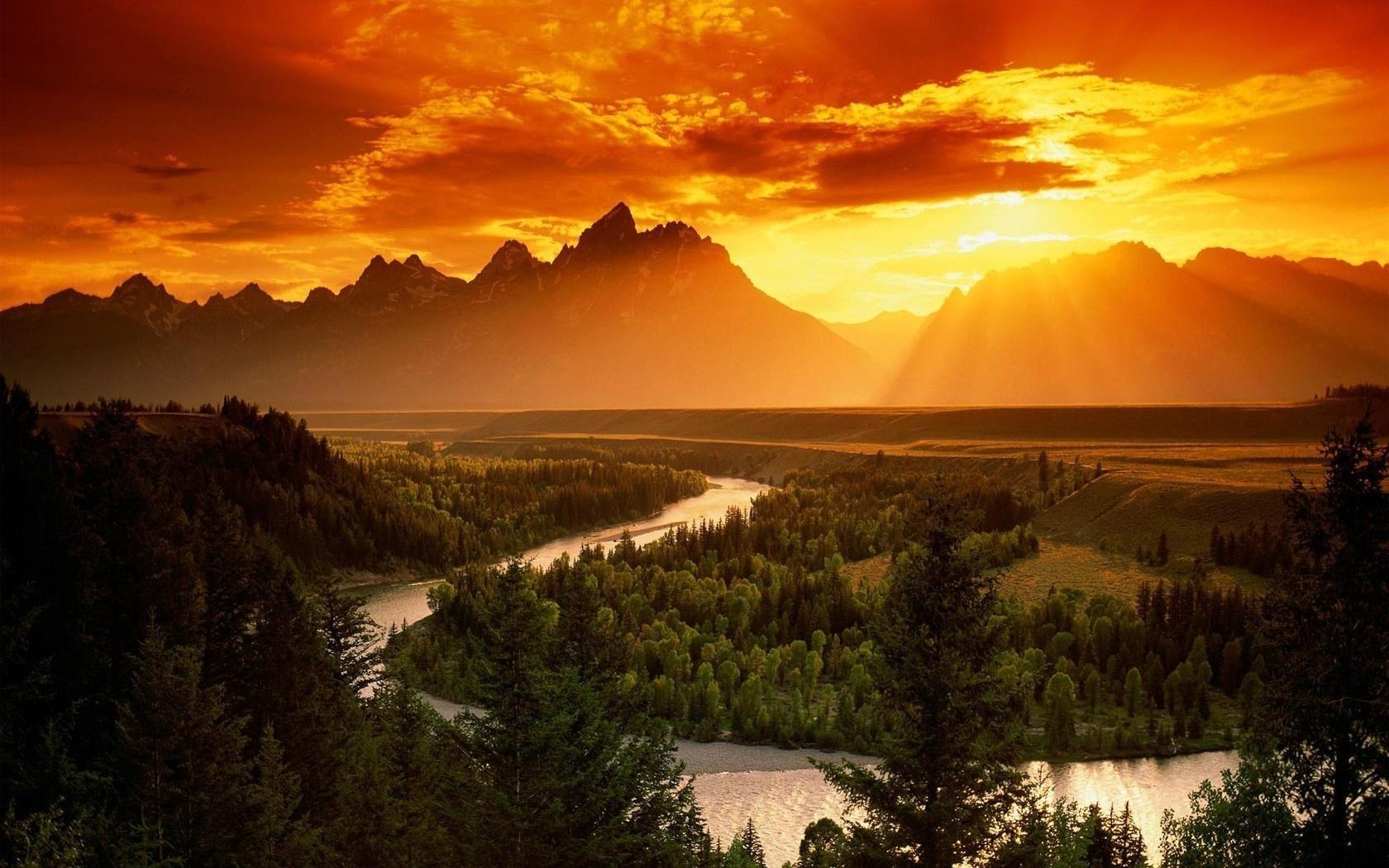 Летием, картинки природа закат солнца
