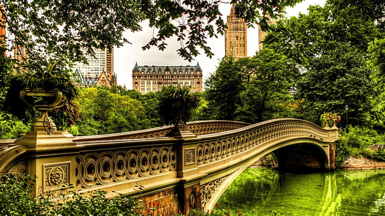 Надпись, картинка с мостами