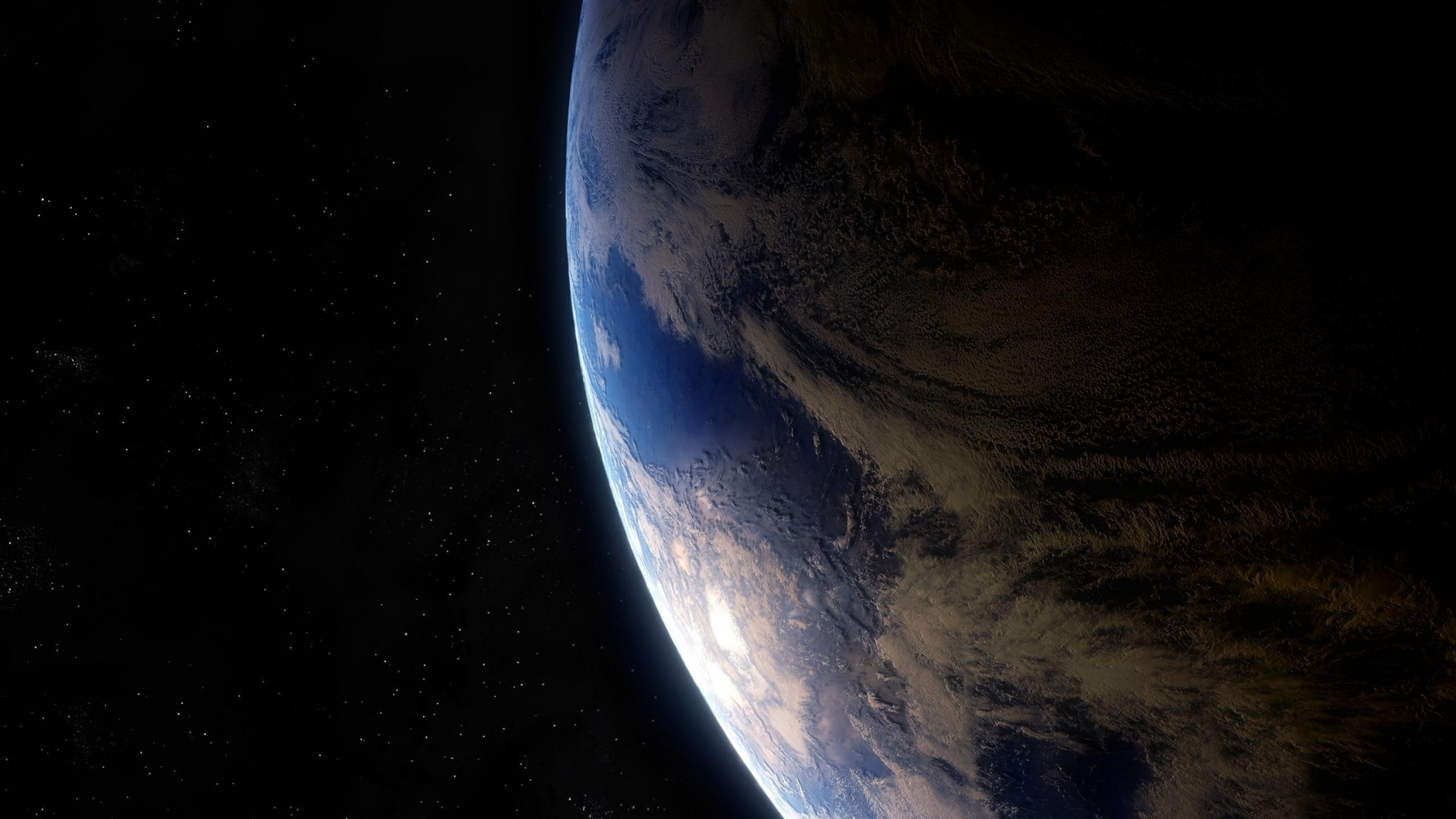 earth and space - HD2560×1440