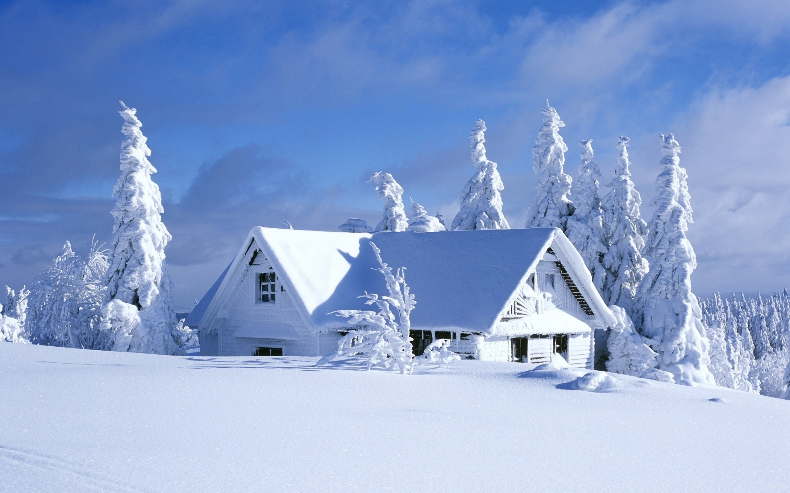 Обои На Рабочий Стол Красивые Зимние Пейзажи
