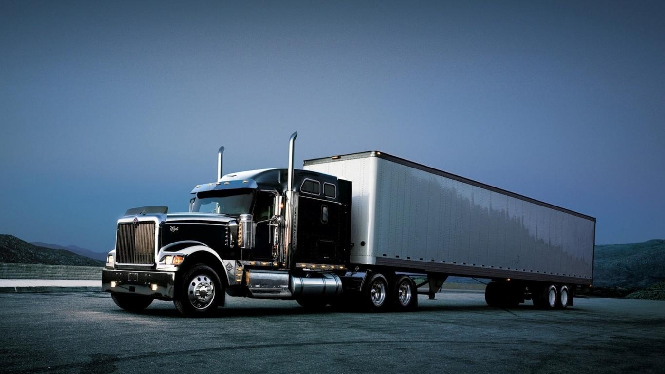 тягач, трак, 9900i, track, international, грузовик