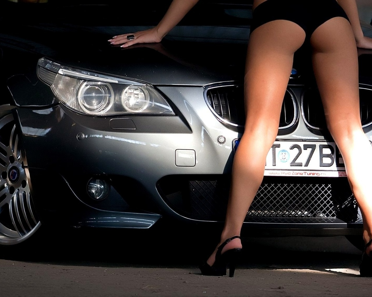 машина, Car, bmw, alpina, m5, wallpapers, обоя, sexy, tuning, e60, girl, girls