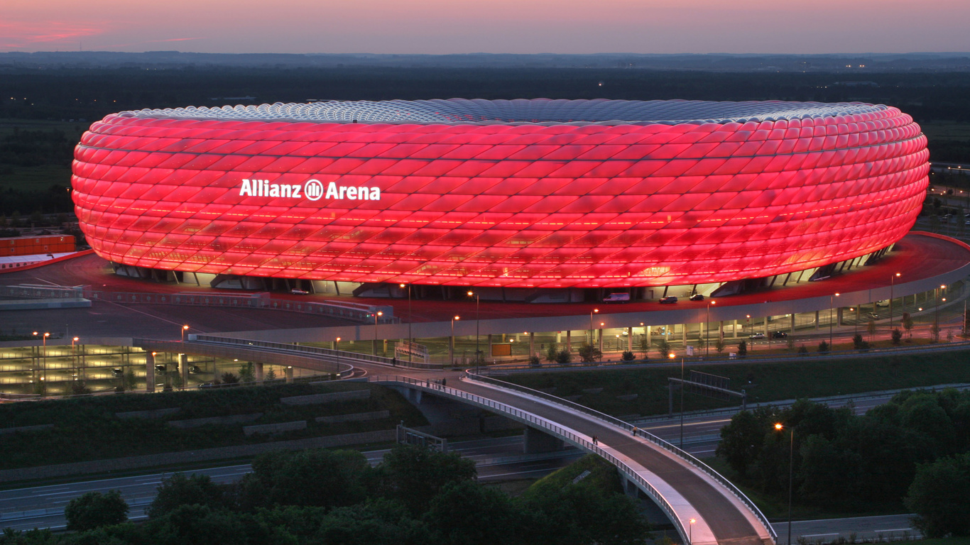 мюнхен, германия, Allianz arena, munich, stadium, germany, альянц арена