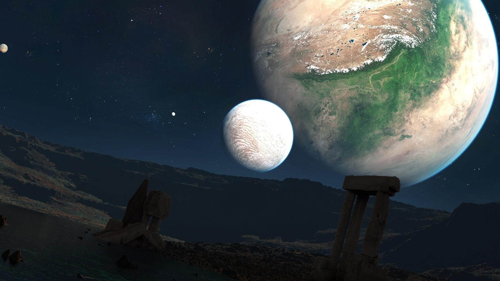 картинки луны и других планет тюнинг требует