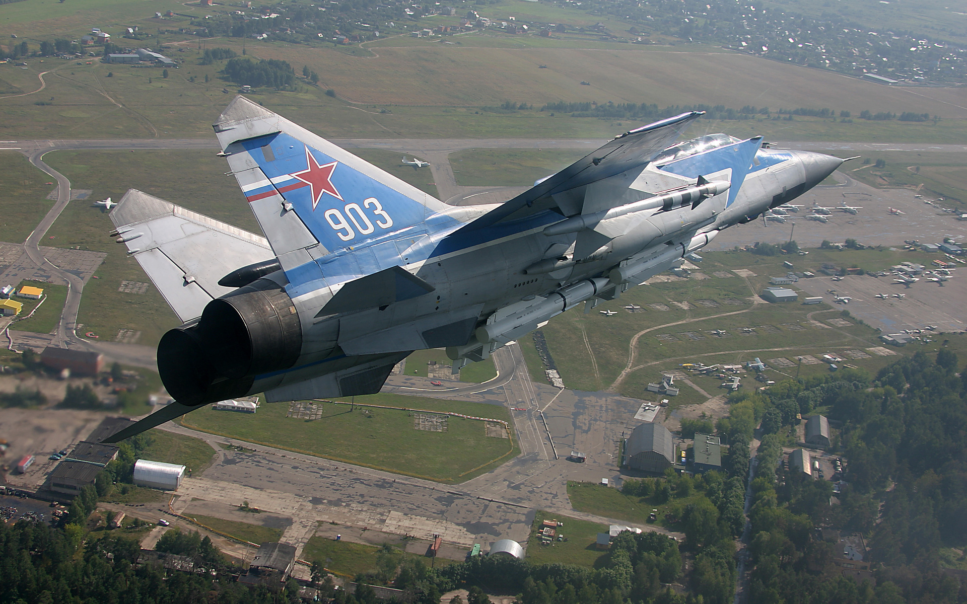 истребитель-перехватчик, самолёт, миг - 31, Миг