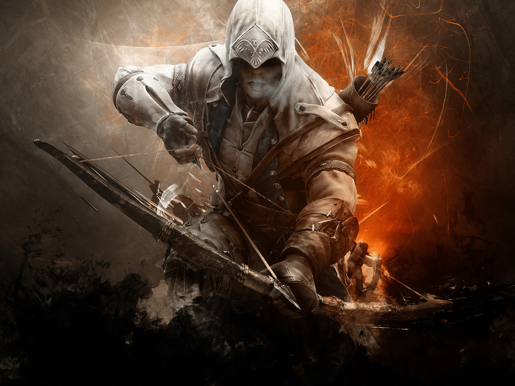 connor kanwey, Assassins creed 3, кредо убийц, коннор кенуэй, assassin, assasins creed